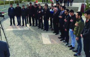 GÜNEŞLİ KAZASI KURBANLARI KSÜ'DE ANILDI
