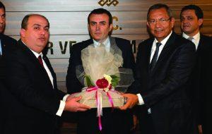 KMTSO HEYETİNDEN BAKAN ÜNAL'A HAYIRLI OLSUN ZİYARETİ