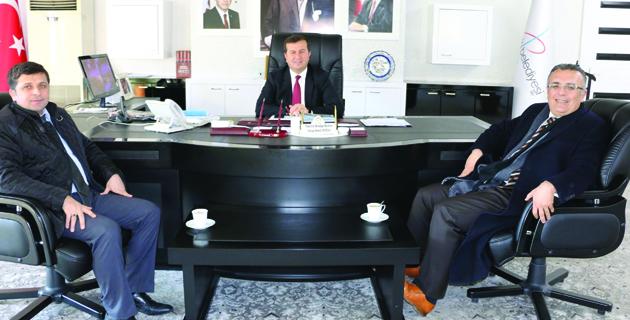 Başkan Bozdağ'a Ziyaret