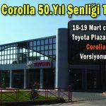 Toyota Corolla 50.Yıl Şenliği Toymar'da