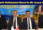 İYİ Parti Onikişubat Basın'la Bir Araya Geldi