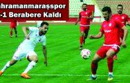 Kahramanmaraşspor, Pendikspor'la 1-1 berabere kaldı