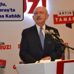 Kılıdaroğlu, Kahramanmaraş'ta İftar Programına Katıldı