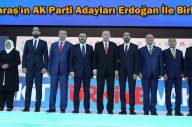 Kahramanmaraş'ın AK Parti Adayları Erdoğan İle Birlikte