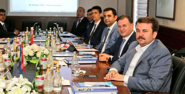 Doğaka 84. Yönetim Kurulu Toplantısı Kahramanmaraş'ta Gerçekleştirildi