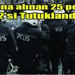 Kahramanmaraş'ta 12 Polis Tutuklandı