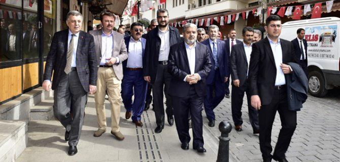 PARLAMENTERLER HEYETİNDEN KAHRAMANMARAŞ'A ZİYARET