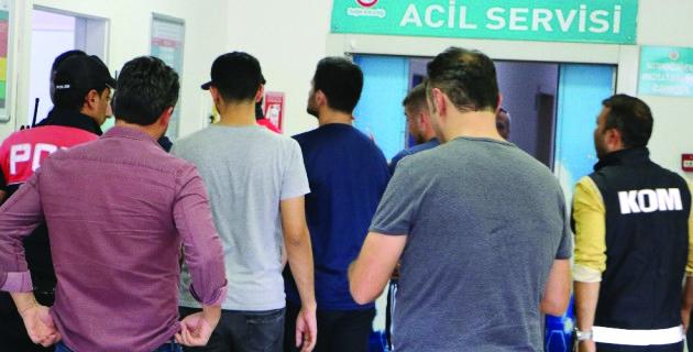 Kahramanmaraş'ta Fetö'den 3 Astsubay Tutuklandı